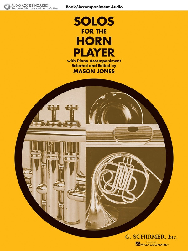 SOLOS FOR THE HORN PLAYER BK/OLA