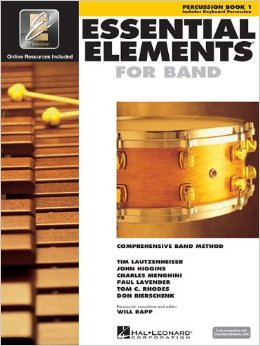 Essential Elements For Band, Book 1 for Percussion