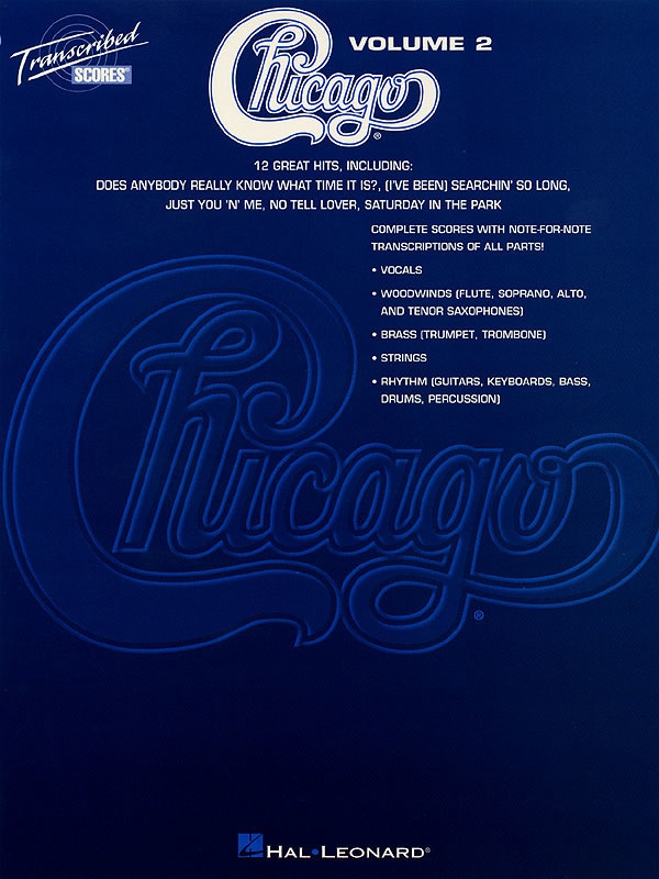 CHICAGO TRANSCRIBED SCORES VOLUME 2