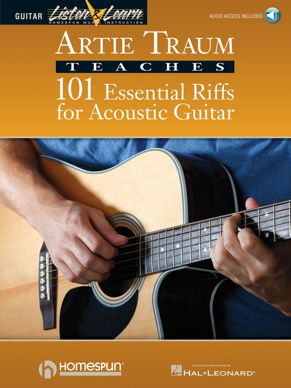 101 ESSENTIAL RIFFS FOR ACOUSTIC GUITAR BK/CD