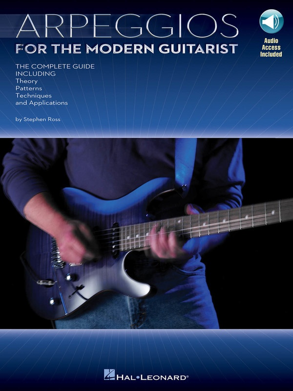 ARPEGGIOS FOR THE MODERN GUITARIST BK/CD