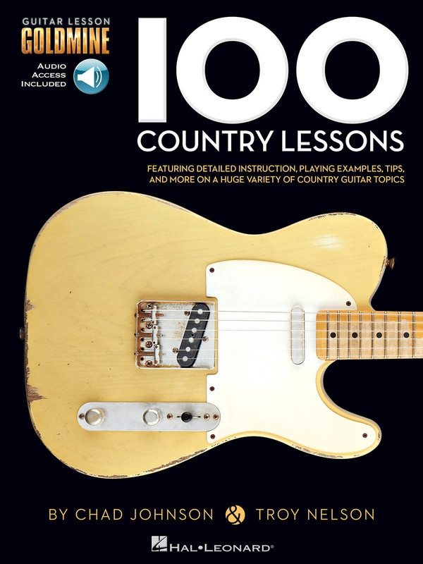 100 COUNTRY LESSONS GOLDMINE SERIES BK/OLA