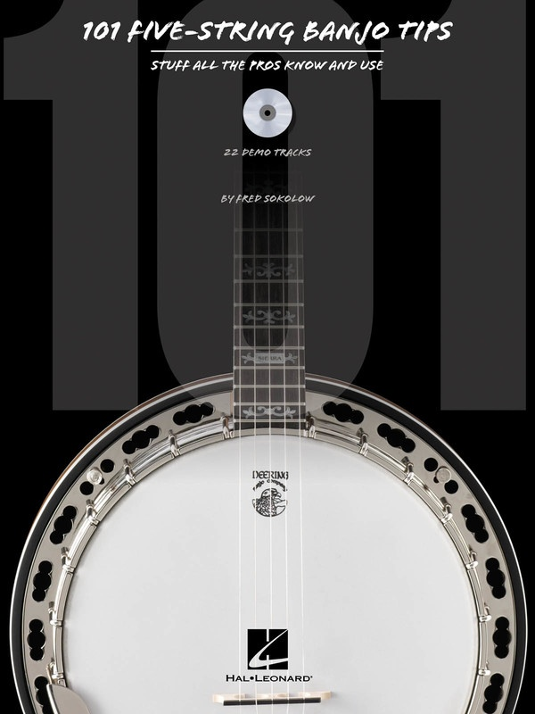 101 FIVE STRING BANJO TIPS BK/CD