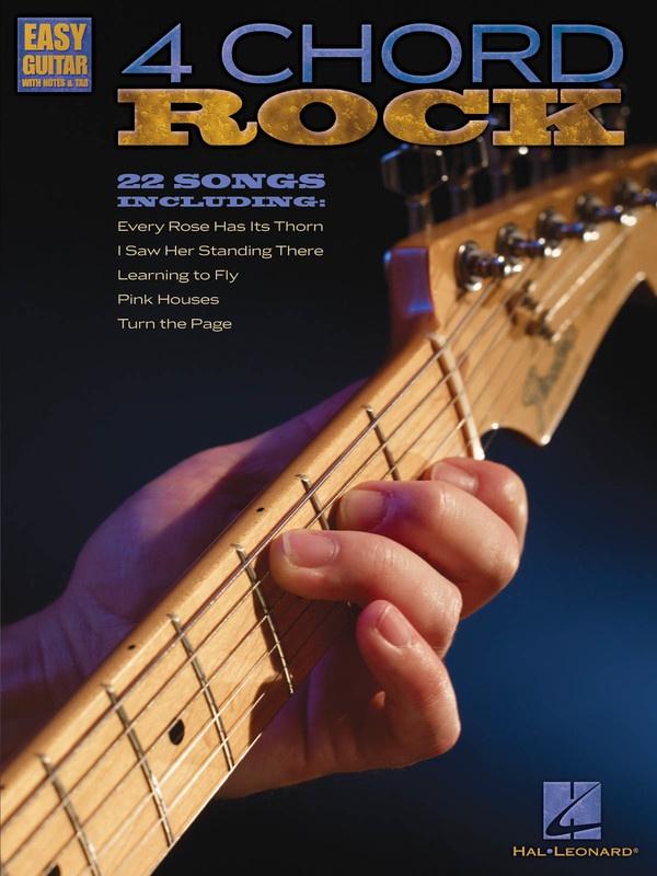 4 Chord Rock Easy Guitar Notes Tab