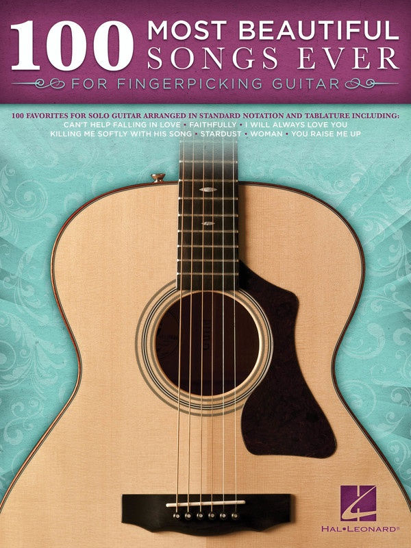 100 MOST BEAUTIFUL SONGS EVER FINGERPICKING GTR