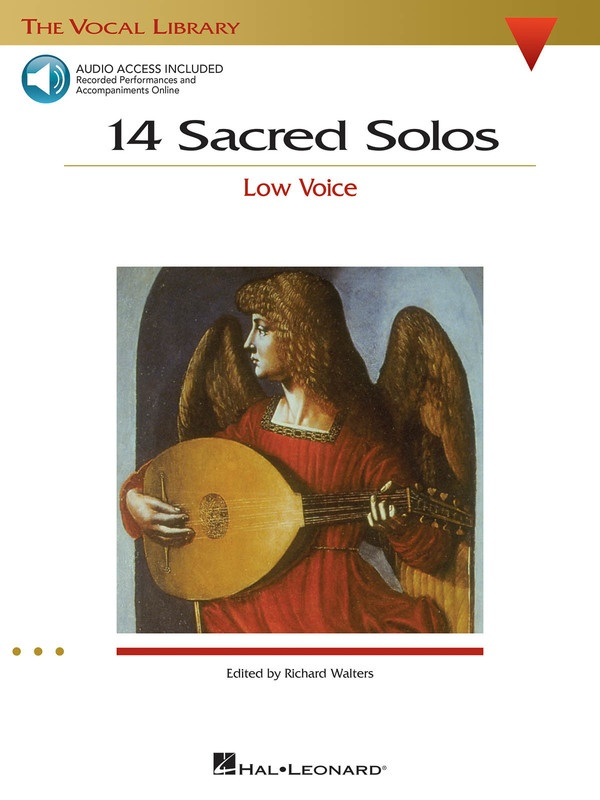 14 SACRED SOLOS BK/CD LOW VOICE