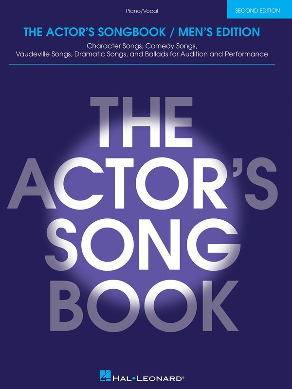 ACTORS SONGBOOK MENS 2ND EDITION