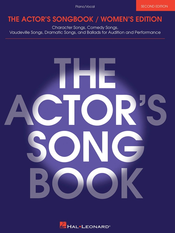ACTORS SONGBOOK WOMENS 2ND ED