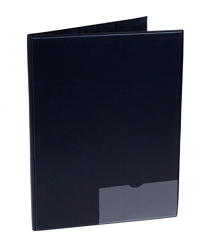 BAND FOLDER 10X14 WITH PENCIL POCKET & WINDOW