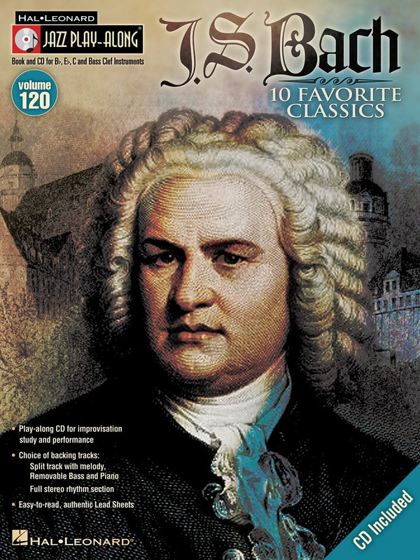 BACH JAZZ PLAY ALONG BK/CD V120