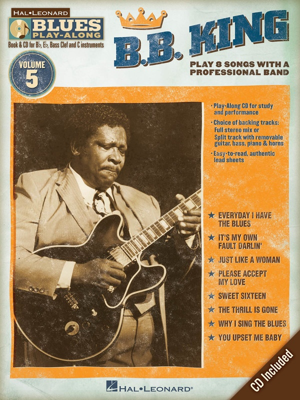 B B KING BLUES PLAY ALONG V5 BK/CD