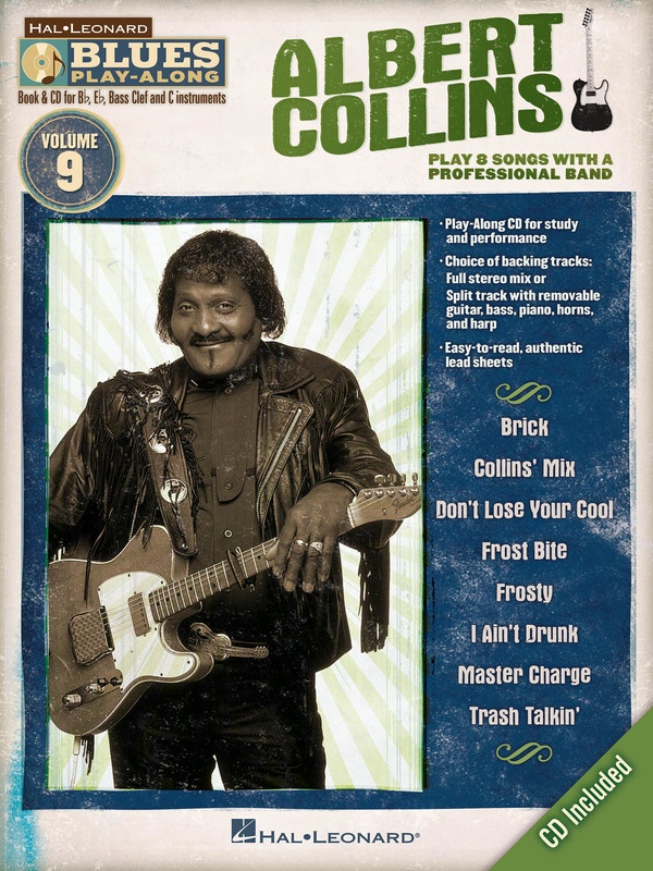 ALBERT COLLINS BLUES PLAY ALONG V9 BK/CD