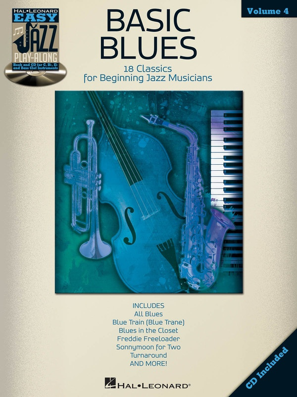 BASICS BLUES EASY JAZZ PLAY ALONG BK/CD V4