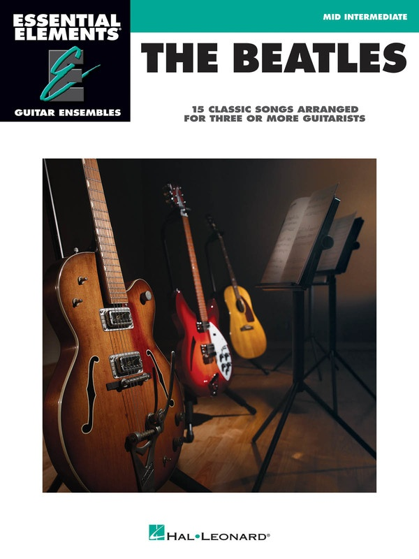 BEATLES GTR ENSEMBLE EARLY INTERMEDIATE EE