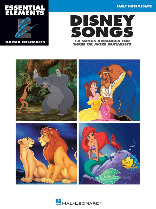 DISNEY SONGS GUITAR ENSEMBLE EARLY INTER EE