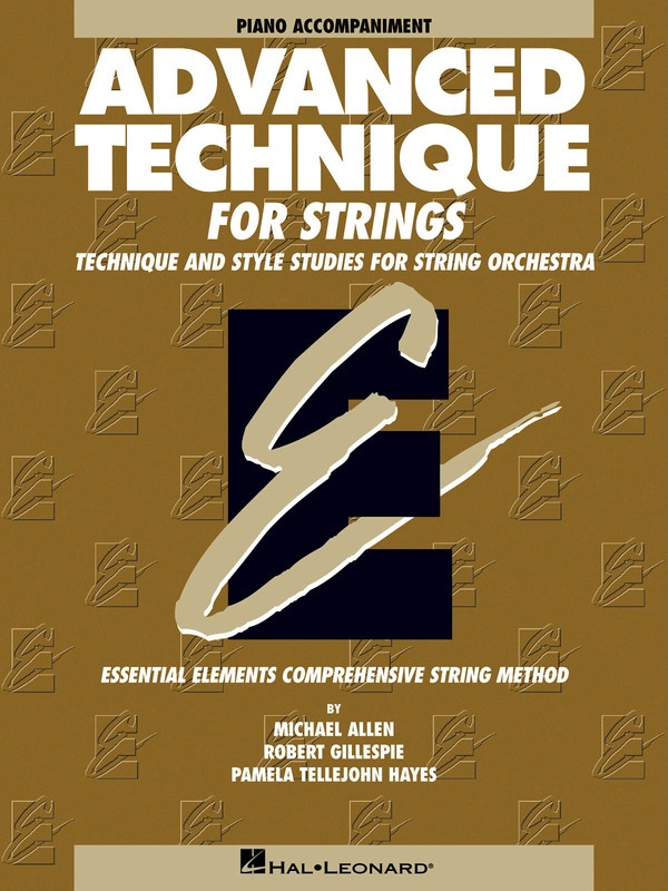 ADVANCED TECHNIQUE FOR STRINGS EE PNO ACCOMP