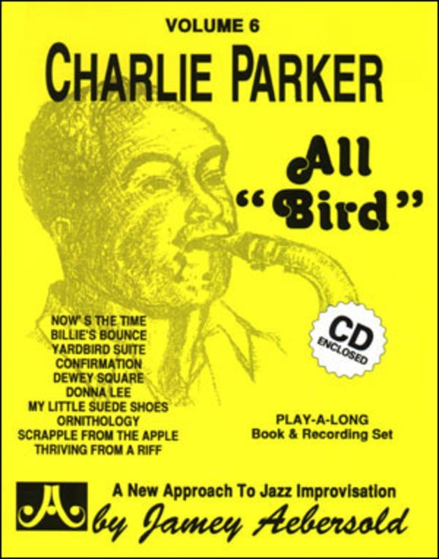 ALL BIRD CHARLIE PARKER BK/CD NO 6