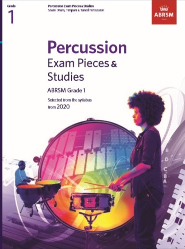 ABRSM PERCUSSION EXAM PIECES & STUDIES GR 1