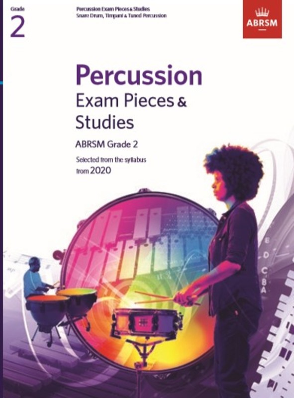 ABRSM PERCUSSION EXAM PIECES & STUDIES GR 2