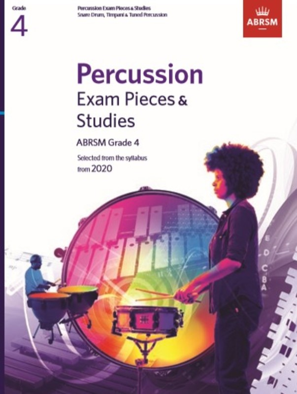 ABRSM PERCUSSION EXAM PIECES & STUDIES GR 4