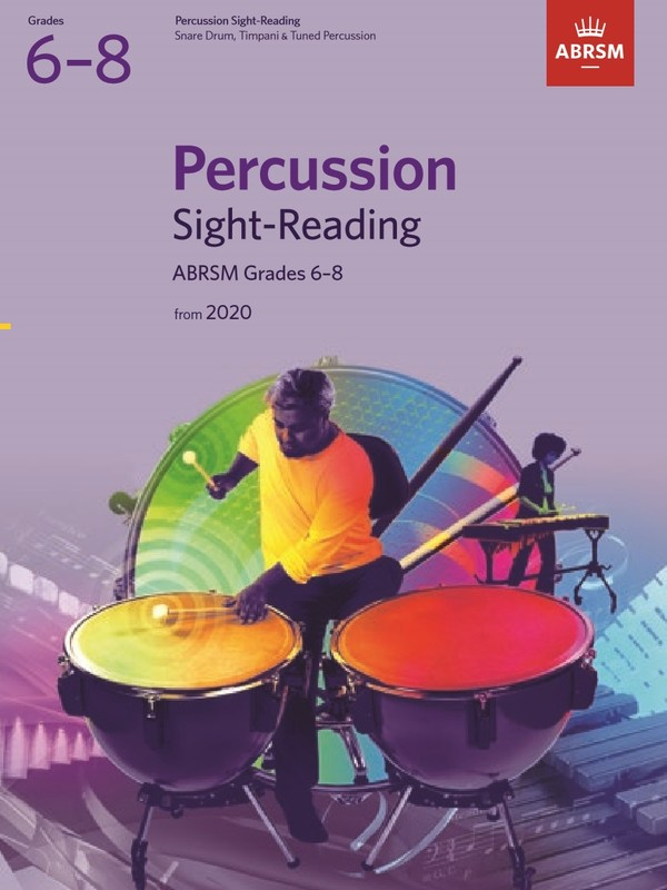 ABRSM PERCUSSION SIGHT READING GR 6-8