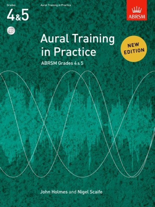 ABRSM AURAL TRAINING IN PRACTICE GR 4-5 BK/CD