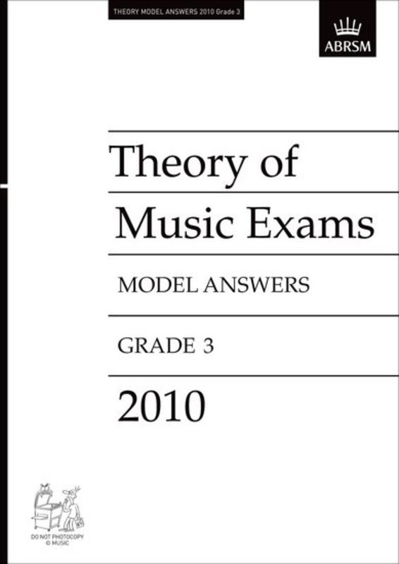 A B THEORY OF MUSIC ANSWERS GR 3 2010