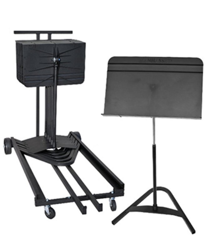 Manhasset Harmony Cart Pack With 12 Harmony Stands