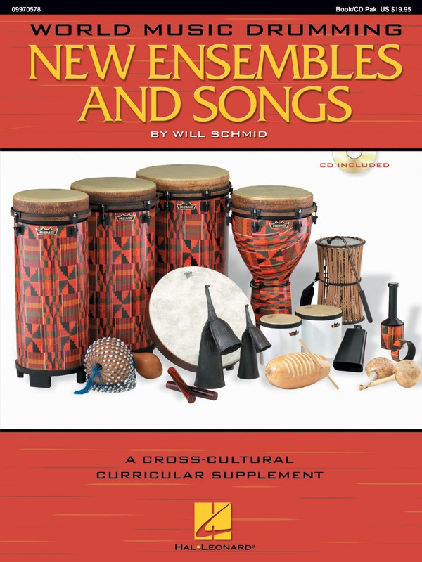 WORLD MUSIC DRUMMING NEW ENS & SONGS BK/CD