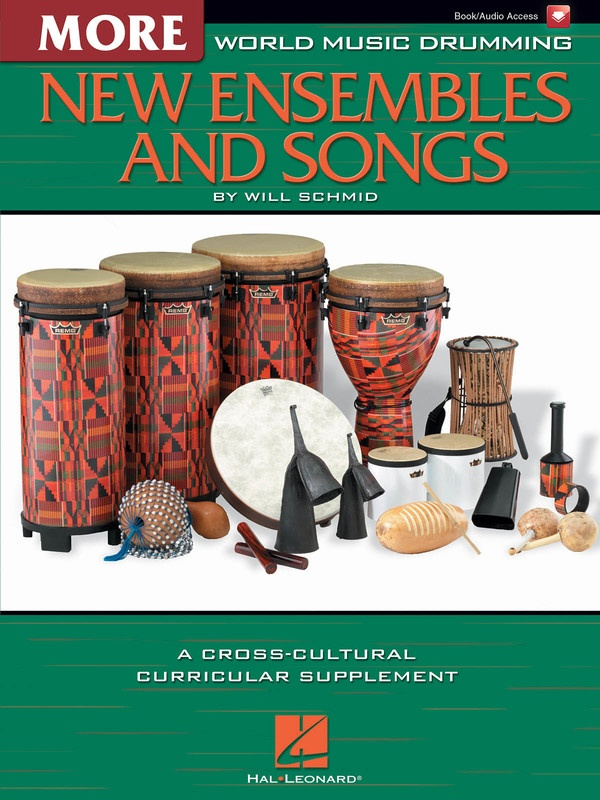 WORLD MUSIC DRUMMING MORE NEW ENSEMBLES BK/CD
