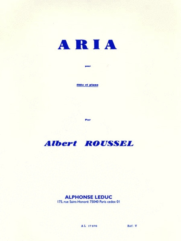 ARIA FOR FLUTE AND PIANO