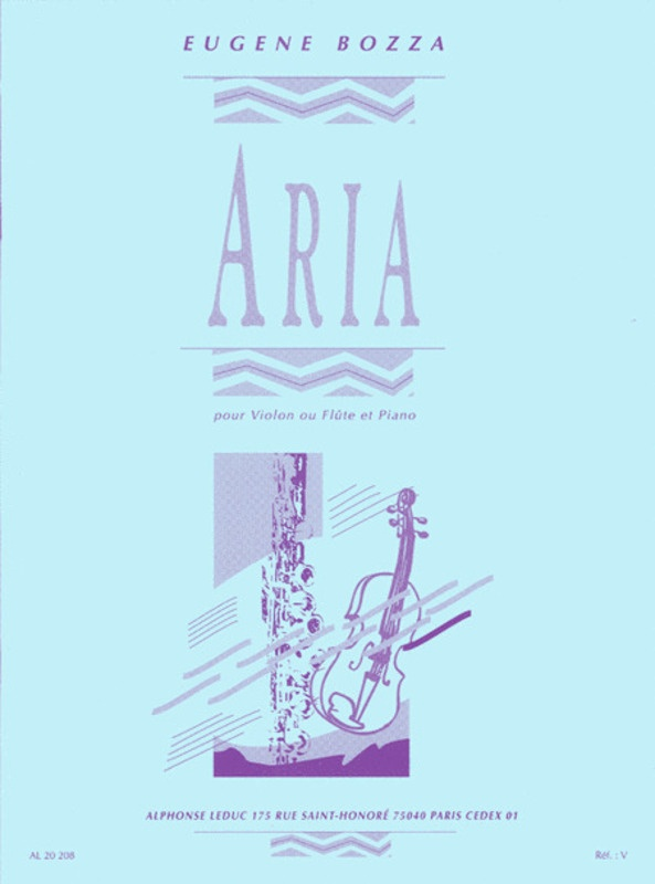 ARIA FOR FLUTE OR VIOLIN