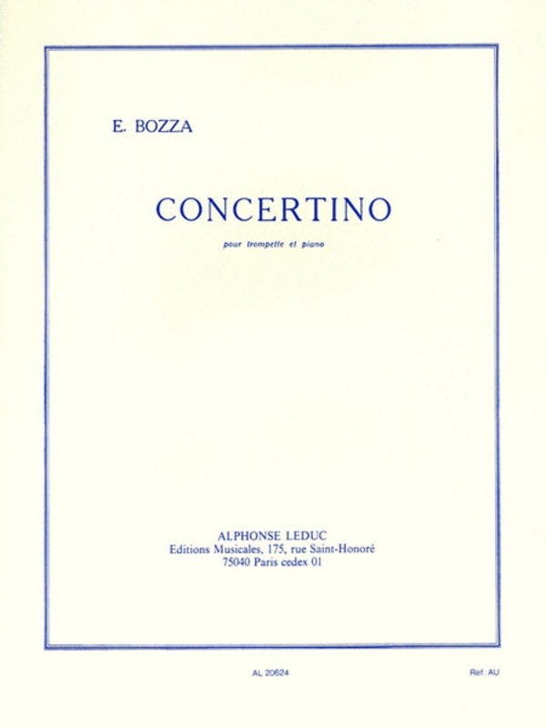 CONCERTINO TRUMPET AND PIANO