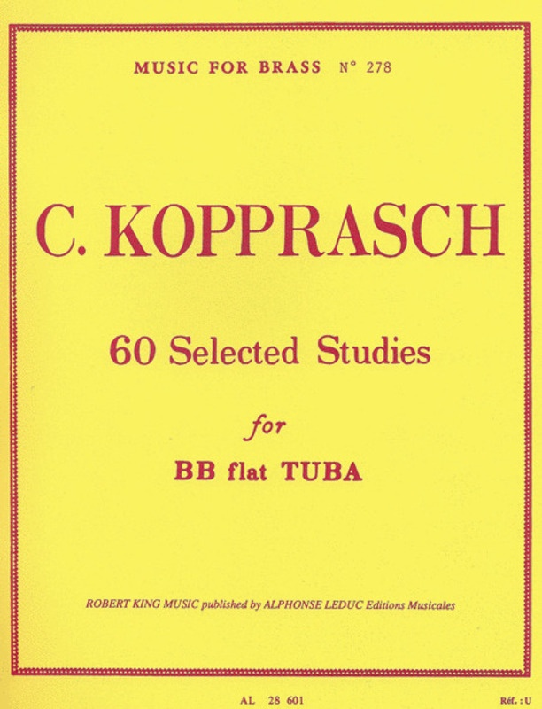 60 SELECTED STUDIES FOR BB TUBA