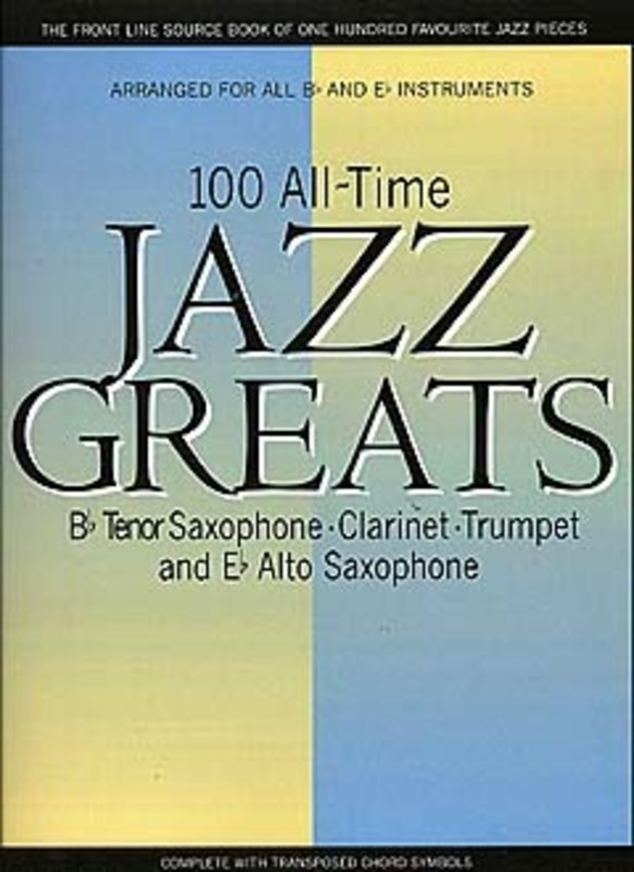 100 All Time Jazz Greats Saxclt & Tpt