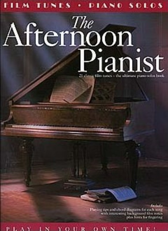AFTERNOON PIANIST FILM TUNES PVG