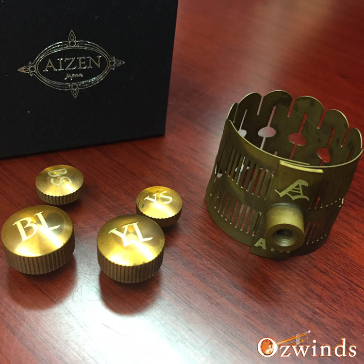 Aizen Freedom Ligature for Alto Sax and Tenor Sax - Lig4