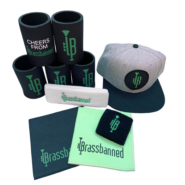 Brassbanned Stubby Holder