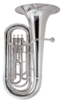 Besson Student 3 Valve Bb Tuba (BE-187C)