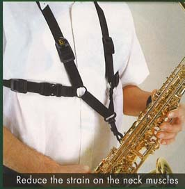 BG Saxophone Harness - Male - Snap Hook