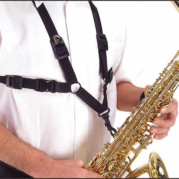 BG Saxophone Harness - Extra Large - Male, Snap Hook