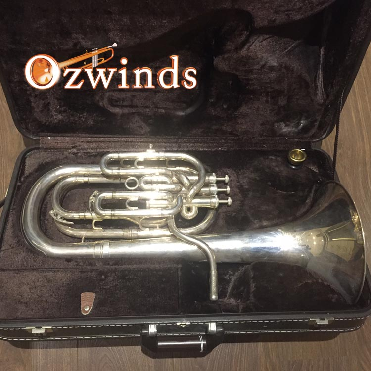 Besson Sovereign Baritone Horn BE955 SN# 896216 (NOW SOLD)