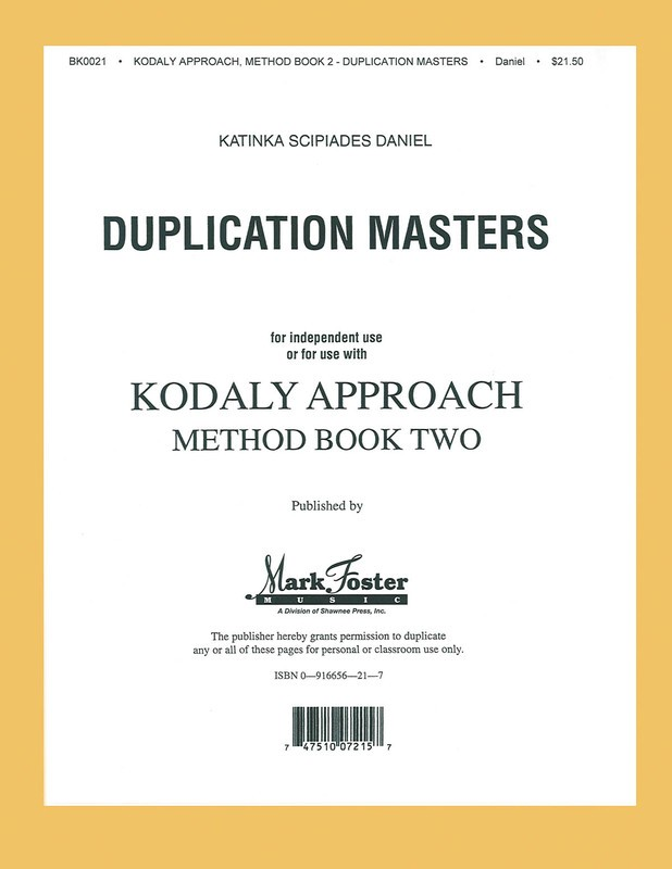 KODALY APPROACH II-TRANSPARENCIES