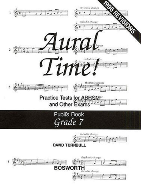 AURAL TIME PUPILS BK GR7 TURNBULL ABRSM