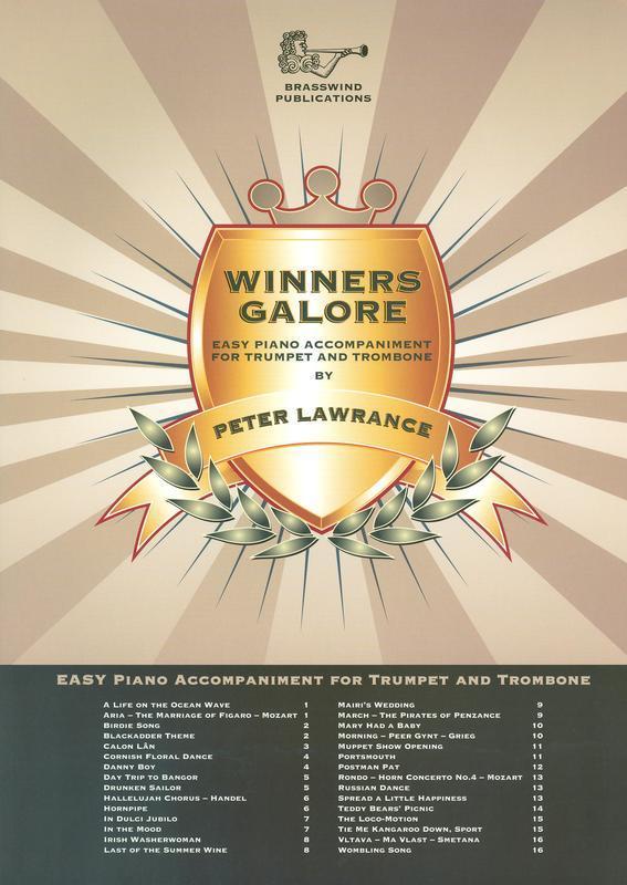 WINNERS GALORE BRASS PIANO ACCOMP