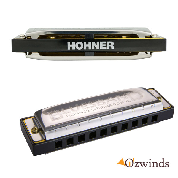 Hohner BLUESBAND Harmonica Value Pack - Keys of C, G and A
