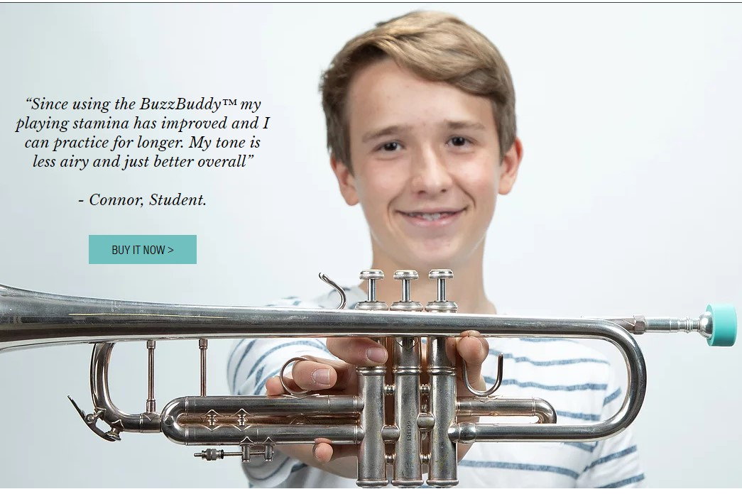 Buzz Buddy For Trumpets $29 95 at Ozwinds