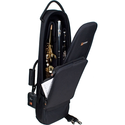 Protec Straight Soprano Sax/Clarinet/Flute Combination Bag