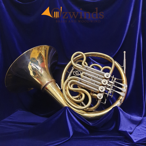 Lewis & Duerk LDX5 'Geyer' Detachable bell Double Horn #542 with Yamaha case