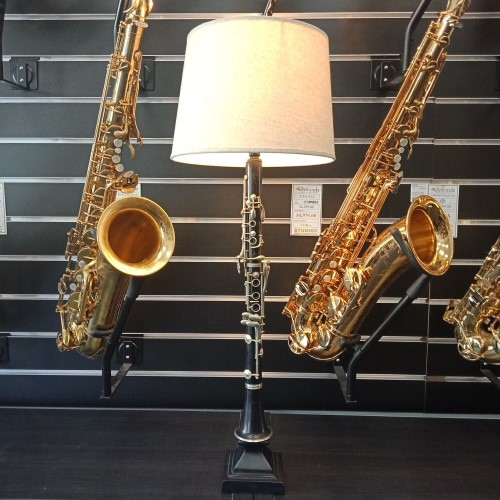 Clarinet Lamp - Hand Assembled